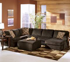 Adhley Furniture ashley furniture vista chocolate casual 3piece sectional with 4010 by uwakikaiketsu.us