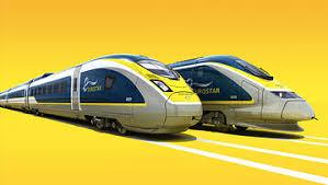 A Sneak Peek On Board The New Eurostar Train The E320