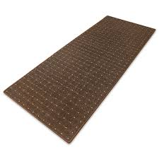 carpet floor runner rapido brown customised size