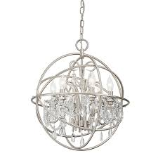 vivian 6 light crystal chandelier