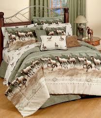 horse stampede print comforter set with sets prepare 14