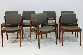 dining chairs armchair by erik buch for orum mobler set of 7