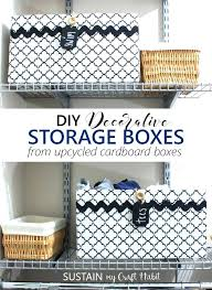 diy decorated storage boxes. Related Post Diy Decorated Storage Boxes