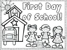 first day of school coloring pages for kindergarten awesome throughout is out printable page sheet schools i love my school coloring page