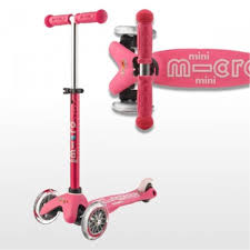 Micro Light Up Scooter Micro Mini Led Deluxe Light Up Scooter Pink