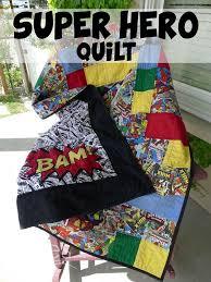 Superhero Bedroom Ideas For Boys | Art and Design & Superhero Quilt Adamdwight.com