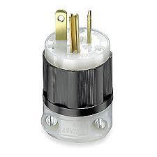 nema 6 20p wiring diagram nema image wiring diagram leviton 20a industrial grade straight blade plug black white on nema 6 20p wiring diagram