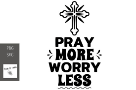 Copy and paste the following code for attribution and get our free license. 6 Pray More Worry Less Designs Graphics