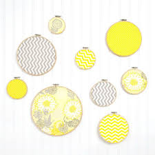 create bright and easy wall art using fabric and embroidery hoops mix solids and patterns on diy wall art michaels with create bright and easy wall art using fabric and embroidery hoops