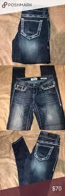 Daytrip Jeans Size Chart Daytrip Lynx Skinny Jeans Dark Wash Daytrip Jeans 26 L