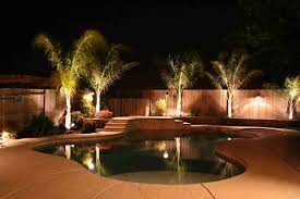 Lighting Around Pool Deck 14 Best Outdoor Lighting Ideas For Pool Or Mini Lake From