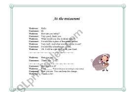 Make A Menu For A Restaurant Make Your Own Restaurant Menu Esl Worksheet By Purpleflower