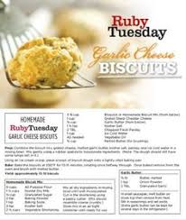 ruby tuesday cheese biscuits ruby tuesday biscuits ruby tuesday recipes garlic cheese biscuits