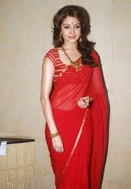 60 gm georgette lace work plain red bollywood designer saree a45 hka sharma saree bollywood designer sarees and red saree