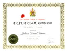 English Teaching Certificate Certification Teaching English Abroad