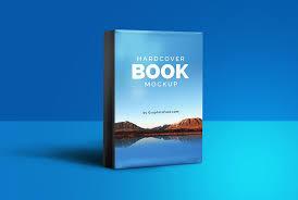stunning hardcover book mockup psd template