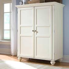 white wood wardrobe armoire shabby chic bedroom. Armoire Closets Bedroom Wardrobe Closet White Furniture . Wood Shabby Chic