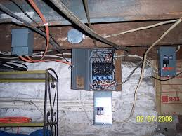 just passed the electrical inspection for upgrading the service to starting to pull the wires out of the old fuse box