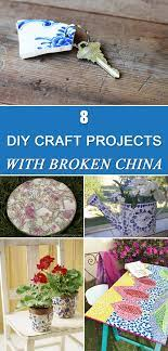 diy craft projects with broken china