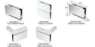 enchanting frameless glass shower door hinges amazing adjustable glass shower door product details for glass shower