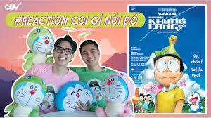 PHIM DORAEMON 2020 Reaction: Hành trình về tuổi thơ mừng sinh nhật 50 tuổi  của Doraemon