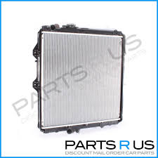 Toyota Hilux Radiator 01-05 1KZ-TE Turbo Diesel Manual 3.0l 02 03 04 ...