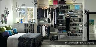 custom wire shelving closet bedroom with exposed custom wire shelving custom closet custom wire closet organizers