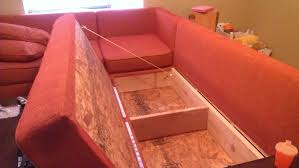 Ana White Diy Sofa Storage Sectional Diy Projects