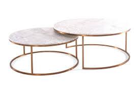 elle round marble nest coffee tables urban rhythm in nested table elle round marble nest coffee