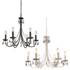 artcraft ac terramo contemporary wide hanging chandelier