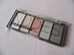 most of the items i brought home with me were makeup such as this palette this palette is by h m it s called s and holds as you can see five