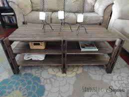 arhaus palmer coffee table elegant trunk copper