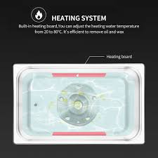 Digital <b>Ultrasonic</b> Cleaner Heated DEGAS Bath 2L 3L 4L 6L 10L ...