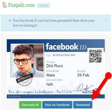 Card Create 2017 How Id Facebook Maker To Identity fake 5wxxAISq