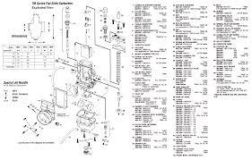 Mikuni TM carburetor drawings
