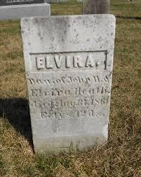 Elvira Heath (1858-1861) - Find A Grave Memorial