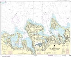 Noaa Nautical Chart 12365 South Shore Of Long Island Sound Oyster And Huntington Bays