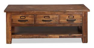 additional additional additional the reign coffee table features lightly distressed wood