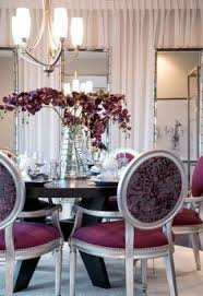 marsala decorative dining set that displays luxury and beauty