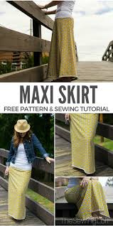 simple maxi skirt diy for your closet the sewing loft update your closet a simple maxi skirt pattern this step by step tutorial will