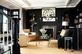 View in gallery Living room clad mainly in black can be simply stunning  when done right