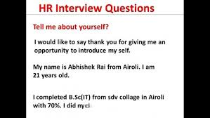 introduce yourself in a interview resume how to introduce  essential element introduce yourself in a job interview sample 8 introduce yourself in a interview resume