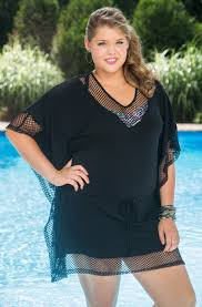 plus size cover up always for me fishnet jersey plus size cover up fish nets