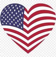 American Flag Website Background Svg Heart American Flag American Flag Heart Png Image With