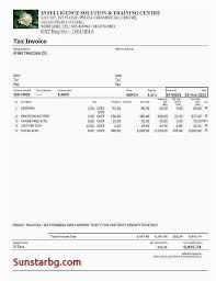 Examples Of Tax Invoices Impressive 48 Tax Invoice Examples Best Invoice Receipt Template Examples