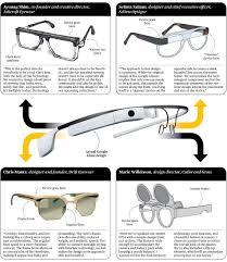New Google Glass Design Four Stylish Google Glass Redesigns Technology Google