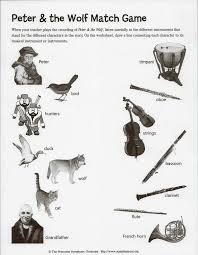 31 best Montessori Music - Peter and the wolf images on Pinterest ...