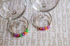 letter bead charms