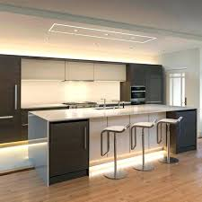 kitchens with track lighting. Track Lighting Above Kitchen Sink Plaster In Led System By Pure  Kitchens With Track Lighting