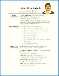 Free Resume Samples Pelosleclaire Com